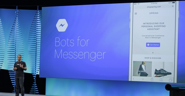 Facebook still isn't a mall, but its bots aim to change that