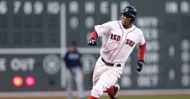 Pedroia hits slam and solo HR, Red Sox beat Braves 9-4