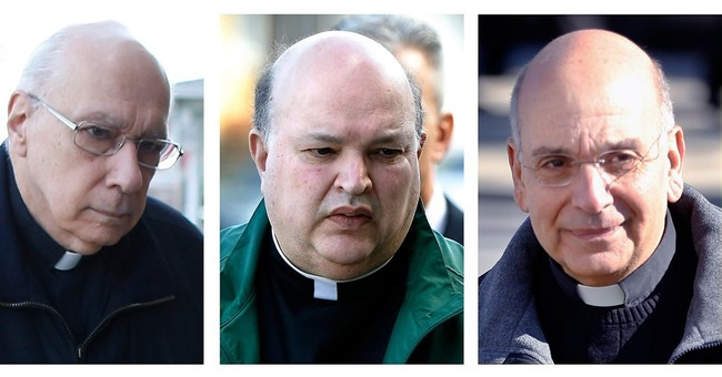 The Latest: Lawyer denies charge that friar endangered kids