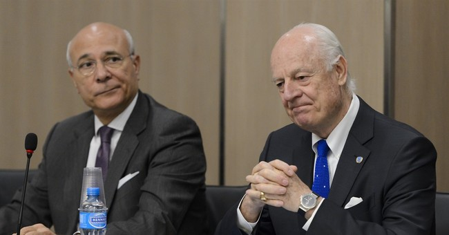 UN envoy appeals to US, Russia to help Syria peace talks