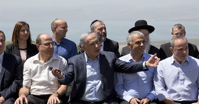 Israel treads carefully with claim to Golan