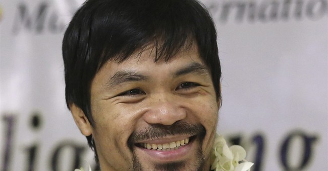 Pacquiao presses senatorial campaign despite kidnap threat