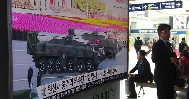 South Korea: Suspected midrange North Korean missiles fail