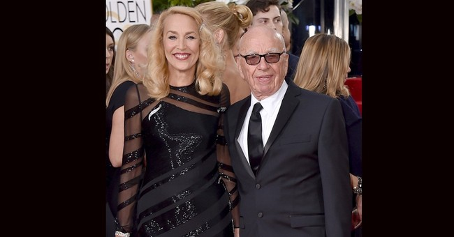Media magnate Rupert Murdoch, model Jerry Hall engaged