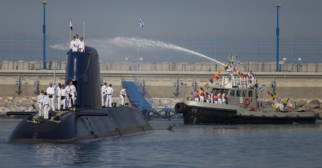 Israel receives fifth submarine with German help