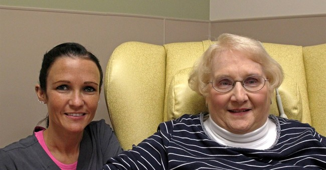 Nurses reunite, with roles switched, decades later