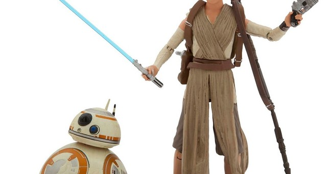 #wheresrey? Disney says more 'Star Wars' heroine toys on way
