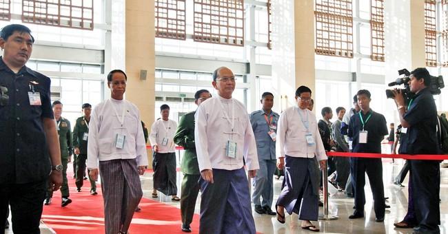 Suu Kyi takes part in talks to boost Myanmar cease-fire