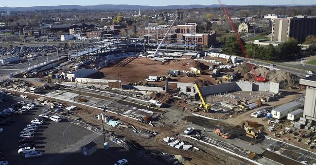 Stadium key to Hartford plans won't be ready opening day