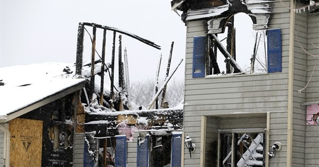 Dad killed with family in home blast had threatened suicide