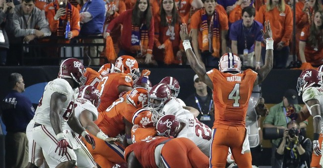 Tide Turner: Gutsy play helps 'Bama get past Clemson, 45-40