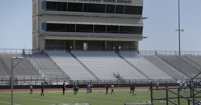 Texas schools spare no expense for huge football stadiums