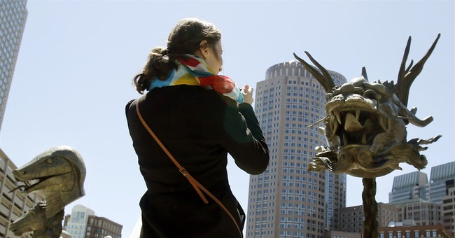 Giant Chinese zodiac sculptures are turning heads in Boston