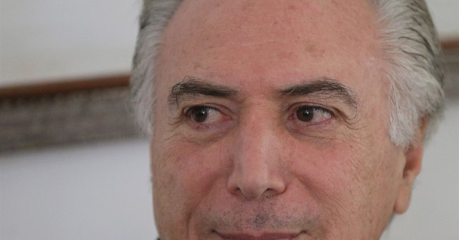 Brazil's VP says he will not be a candidate in 2018