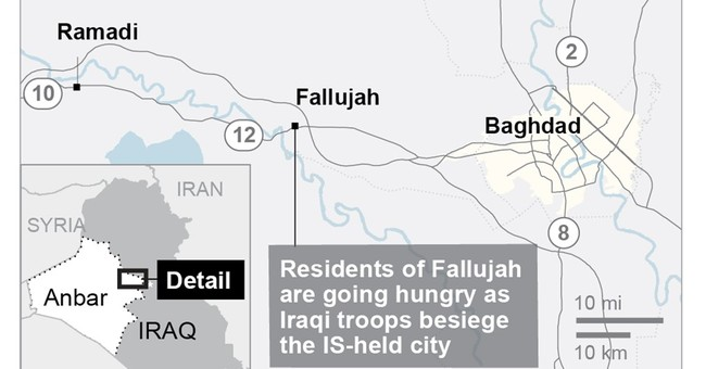 Residents of Iraq's IS-held Fallujah suffer under siege