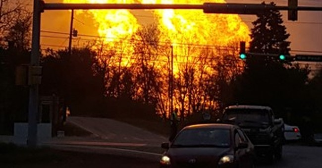 The Latest: Fire from natural gas explosion has been put out