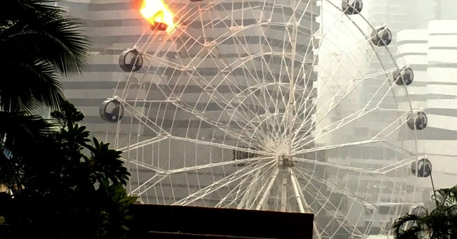 Bangkok ferris wheel catches fire, but no injuries reported