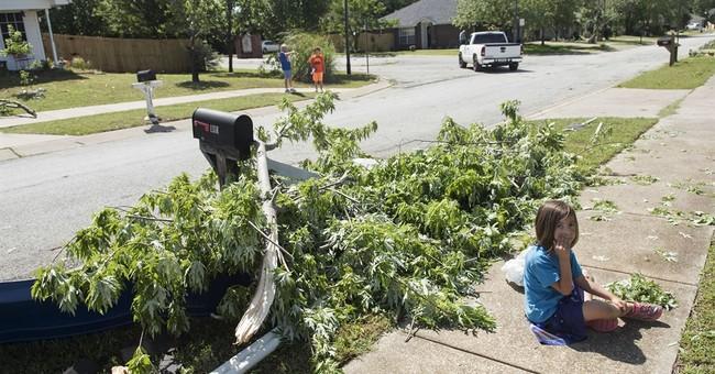 Woman, 4 children killed as flood swamps Texas neighborhood