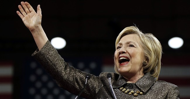 The Latest: Clinton: Don't let progress fall to Trump