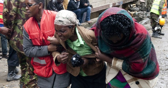 Kenya officials: Death toll of collapsed building up to 20