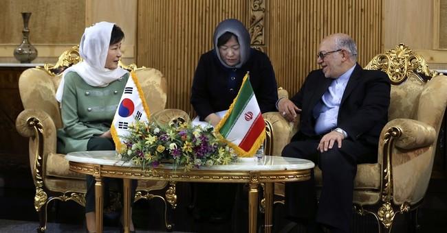 South Korean president visits Iran to boost ties