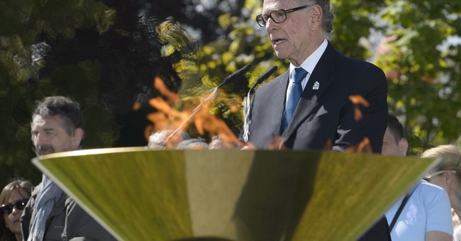 Rio Olympic flame visits UN office in Geneva