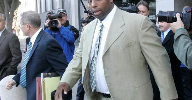 The Latest: Ex-49er Dana Stubblefield denies raping woman