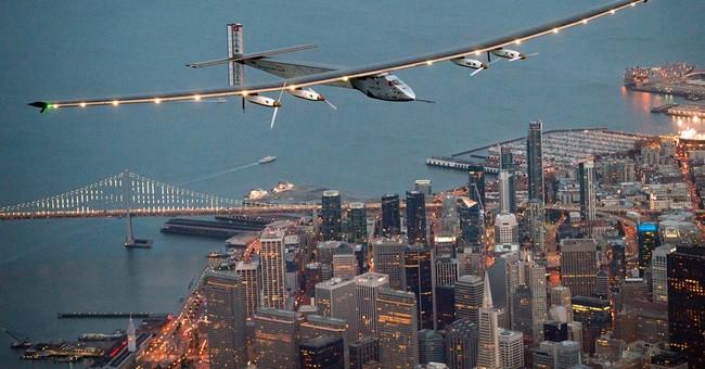 Solar plane on global trip arrives in Arizona