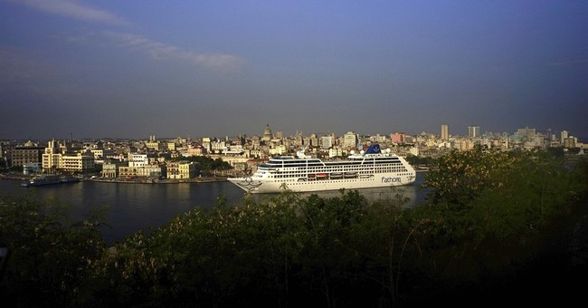 Cheering Cubans greet first cruise ship from US in decades