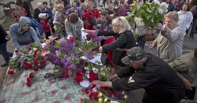 Ukrainian city marks 2nd anniversary of fire that killed 43