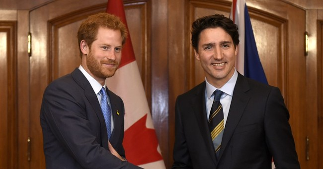 Prince Harry, Canada's Trudeau mark wounded soldiers event
