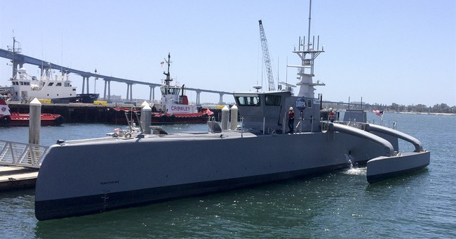 Move over drones, driverless cars _ unmanned ship up next
