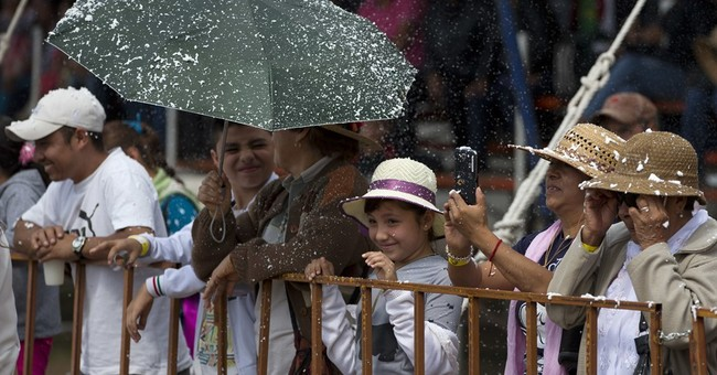 Small Mexican town fetes the donkey with May Day festival