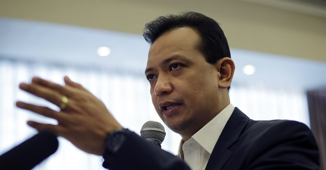Senator alarmed by Philippine candidate's plan on guerrillas