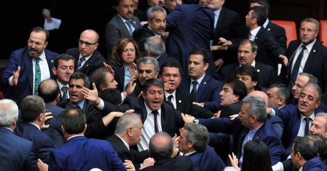 Turkey's Kurdish MP's closer to trial after parliament brawl