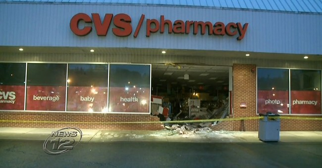 SUV slams into suburban New York CVS, injuring 5