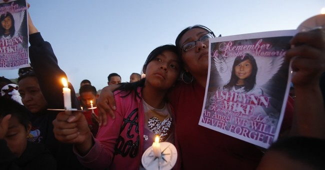 The Latest: Suspect in Navajo girl death faces murder charge