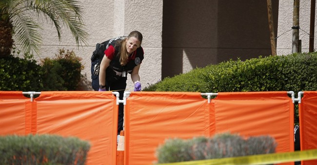Man, woman dead, 2 kids shot outside Vegas-area day care