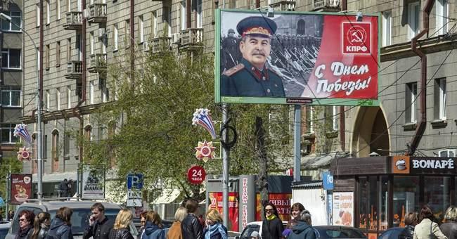 Dozens of billboards honoring Stalin put up in Russian city
