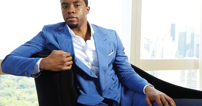 Chadwick Boseman continues superhero streak as Black Panther