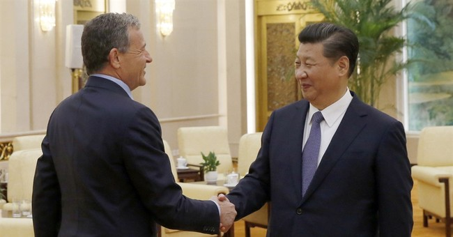 Disney CEO meets Chinese president ahead of park opening