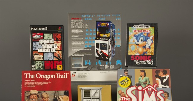 'Space Invaders,' 'Grand Theft Auto III' hall of fame games