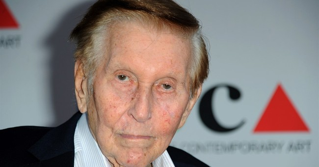 The Latest: Sumner Redstone testifies in competency case