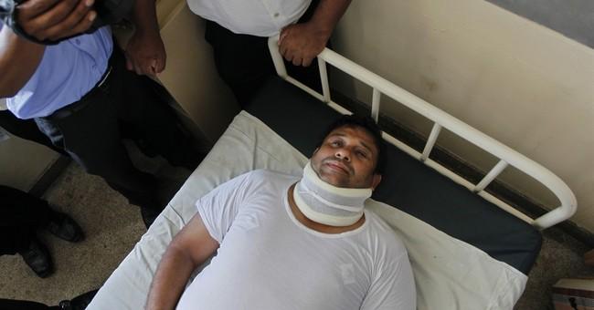 Sri Lanka suspends 2 lawmakers over fistfight in parliament