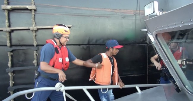 Colombian fisherman reunited with family after weeks adrift