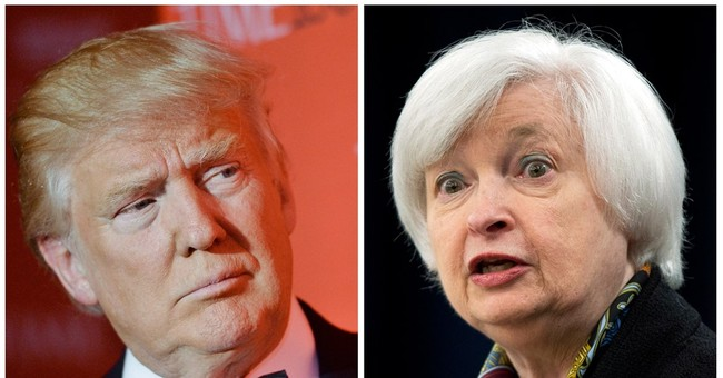 Trump says he would likely replace Yellen once her term ends