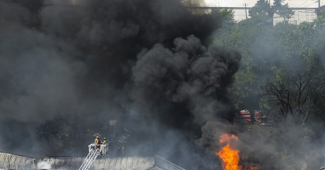 500 gallons of pesticides at Houston site destroyed by fire