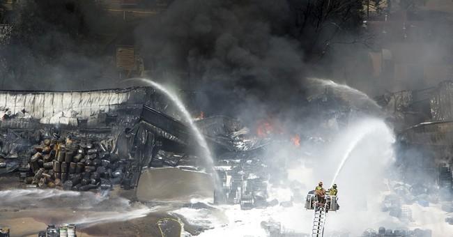 Officials look into hazardous materials in Houston fire