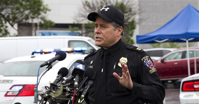 The Latest: Officers trailed shootings suspect before arrest