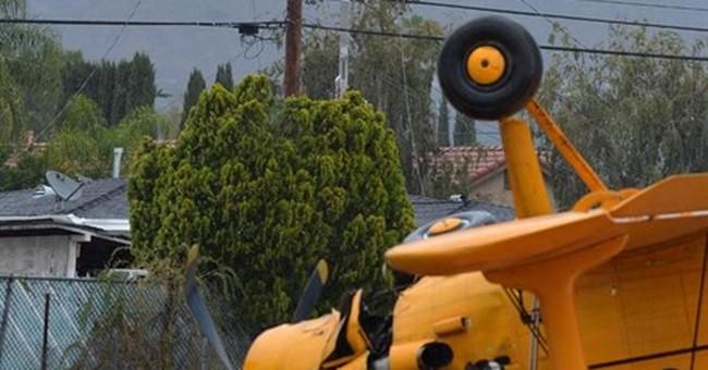 Soviet-made plane crashes near Southern California homes